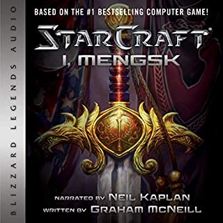 StarCraft: I, Mengsk audiobook cover art