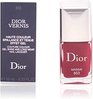 Christian Dior Vernis Couture Color Gel Shine and Long Wear Nail Lacquer, 785 Cosmopolite, 0.33 Fluid Ounce