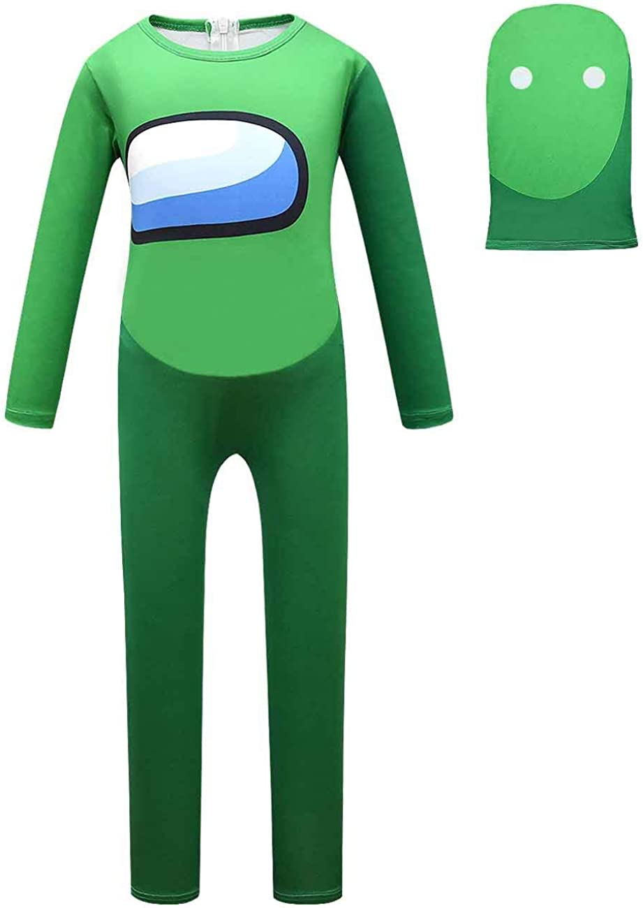 Cobakuey Halloween Costume Cosplay Jumpsuits for Kids