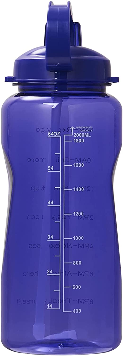 QAZW Filter Time Marker Motivational Bottle Water 67oz BA Super sale Inexpensive period limited Sports