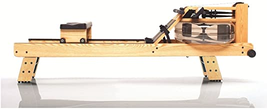product image for WaterRower Natural Rowing Machine w/ S4 Monitor & Hi Rise Attachment