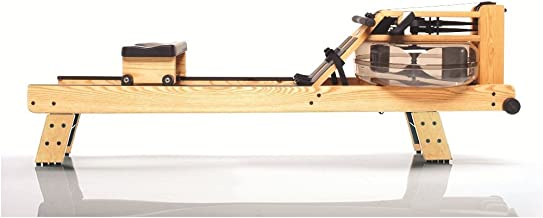 WaterRower Natural Rowing Machine w/ S4 Monitor & Hi Rise Attachment
