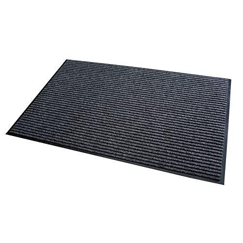 Acerto 30196 Alfombrilla antisuciedad gris 90x150cm