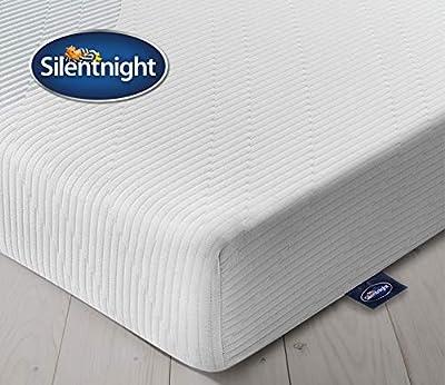 Silentnight 3 Zone Memory Foam Rolled Mattress, Made in the UK