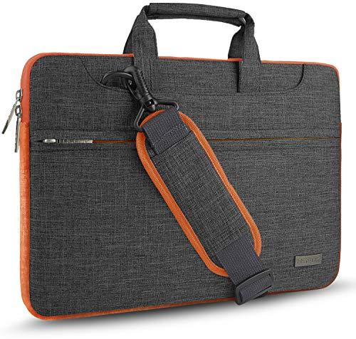 Hseok 15 15,6 16 Zoll Laptoptasche Hülle, Handgriff Aktentasche Wasserabweisend Schutzhülle für MacBook Pro 16 15,4 Zoll, XPS 15, für die meisten 14