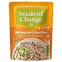 Seeds of Change Organic Quinoa & Flax Wholegrain & Red Microwaveable Rice, 240g