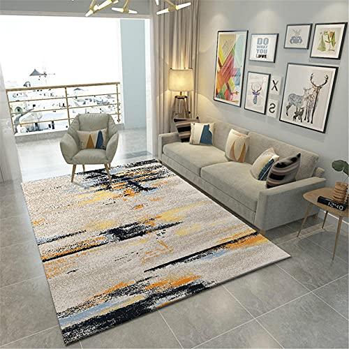 WCCCW Einfache einfache Farbe Kombination abstrakte Feuchtigkeitsabsorption und atmungsaktive Übergangs-rutschfeste Bürolounge dekorative Teppiche-160x230 cm. wohnzimmerteppich Schlafzimmer Bettvorl