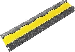 PrimeMatik - Pasacables de Suelo para protección de Cables eléctricos de 2 vías 98cm
