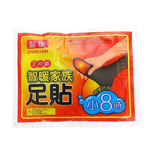 MIKI-Z 1 Paar Fußwärmer Aufkleber 8 Stunden Winter Anhaltende Wärme Pad Klebeflecken Paste