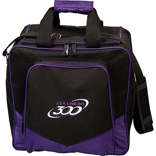 Columbia 300 Bowlingtasche mit weißen Punkten, C108-18, violett, Einheitsgröße