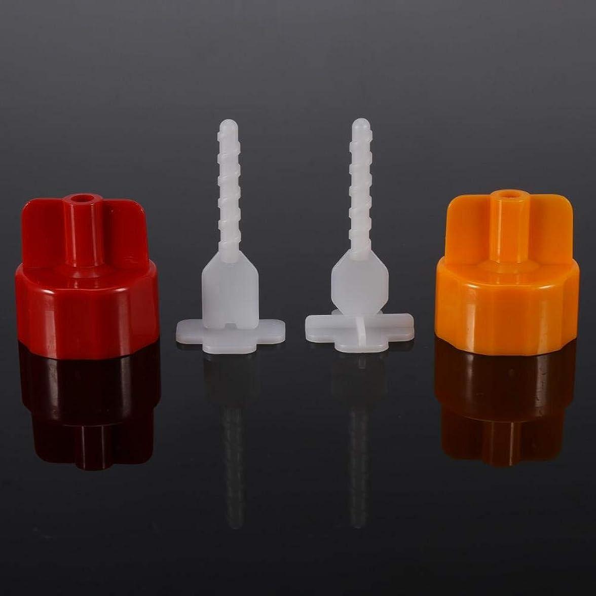 ドナーコンドームにプラスチッククリップ 床壁タイルスペーサーストラップ タイルフラットレベリングシステムツール プラスチック製 頑丈 耐久性 再利用可能 経済的 環境に優しい タイルの隙間2mmに適用(「+」ベースDL-F01A2)