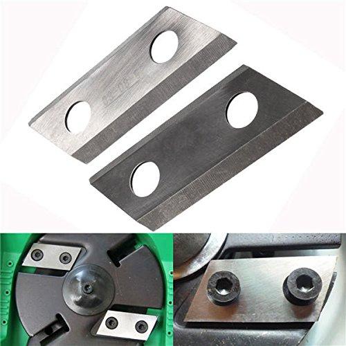 ARLT 2pcs Shredder Chipper Blade para Eco ES1600 McCulloch MCS2001
