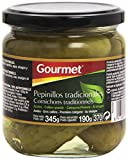 Gourmet - Pepinillos tradicionales - Al vinagre - 190 g - , Pack de 6