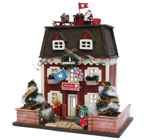 ビリー 手作りドールハウスキット ウッディハウスコレクション クリスマスハウス 8818