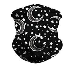 OBEEII 6PCS Multifunctional Bandana Headwear Unisex Headband Wide Balaclava Neck Gaiter Scarf for Sports Cycling Running Hiking Motorcycling Outdoors