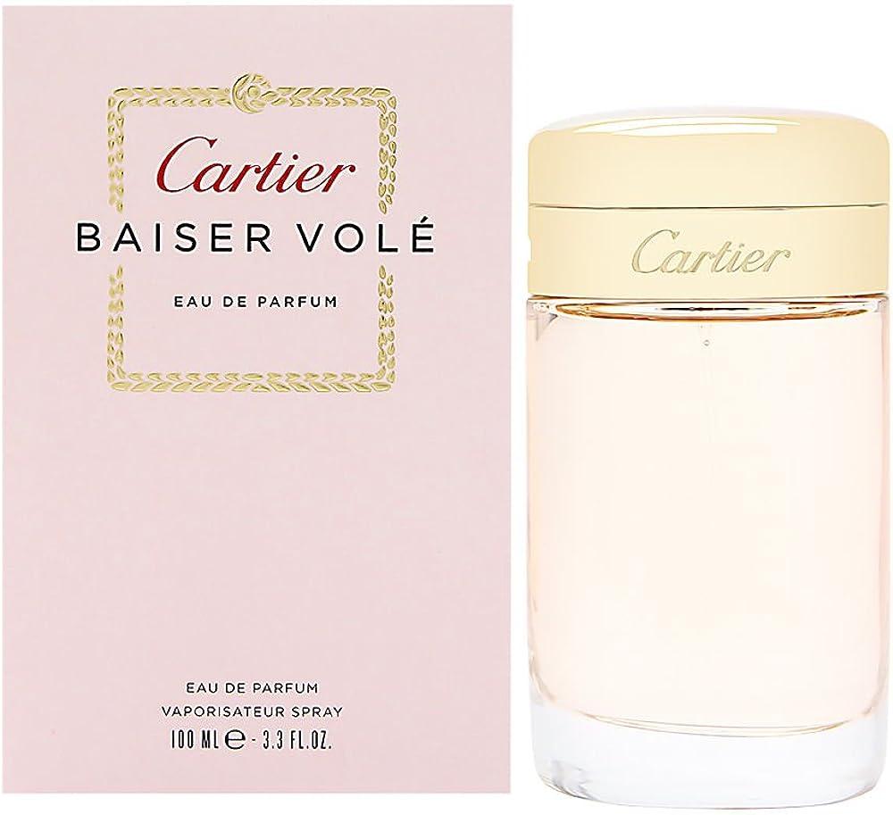 cartier - baiser vole eau de parfum per donna 100 ml spray 10000516