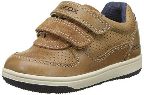 Geox Baby-Jungen B New Flick Boy B Sneaker, Beige (Caramel), 26 EU