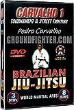 World Martial Arts Pedro Carvalho Series 1, Brazilian Jiu-Jitsu Instructional DVDs with Over 300 Techniques
