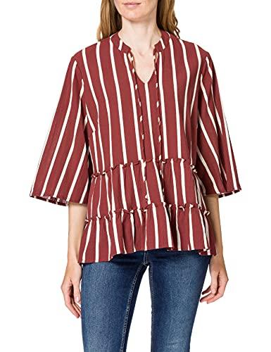 camicia donna 56 Vero Moda VMAFUA 3/4 Blouse-K Curve GA Camicia da Donna