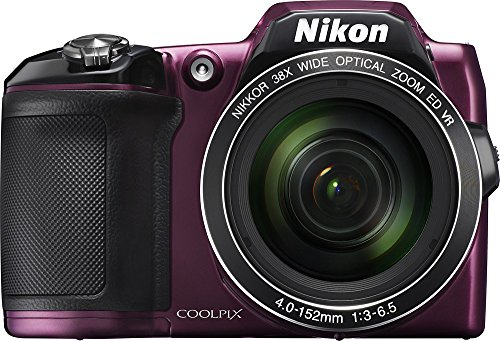 Nikon COOLPIX L840 16.0-Megapixel Digital Camera with 76x dynamic fine zoom, 38X...