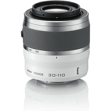 Nikon 望遠ズームレンズ 1 NIKKOR VR 30-110mm f/3.8-5.6 ホワイト ニコンCXフォーマット専用
