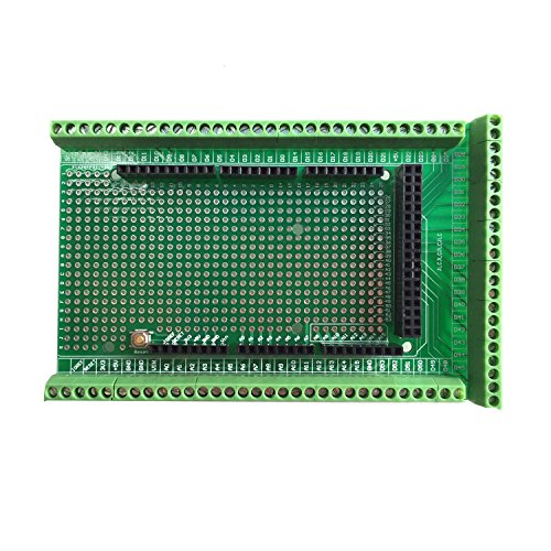 WINGONEER® Prototype Screw/Terminal Block Shield Board Kit Per Arduino MEGA 2560 R3 DIY saldato
