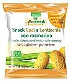 Probios Snack Ceci e Lenticchie Bio - Confezione da 12 x 35...