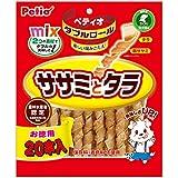 ペティオ (Petio) 犬用おやつ ダブルロール ササミとタラ チキン 20本