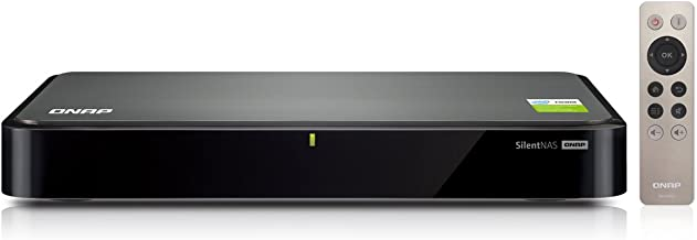 QNAP HS-251+ 2-Bay Fanless Personal Cloud NAS with HDMI Output, DLNA, AirPlay and PLEX Support. Ideal Home Media Storage and Entertainment Hub (HS-251+-US)