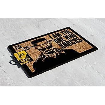 50 x 65 cm PVC Relaxdays 10021038 Tapetto Zerbino da Ingresso Casa Beige