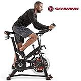 Schwinn Fitnessbike Speedbike IC7 pulverbeschichteter Stahlrahmen, 18 kg PWD Schwungrad, Brustgurtempfänger