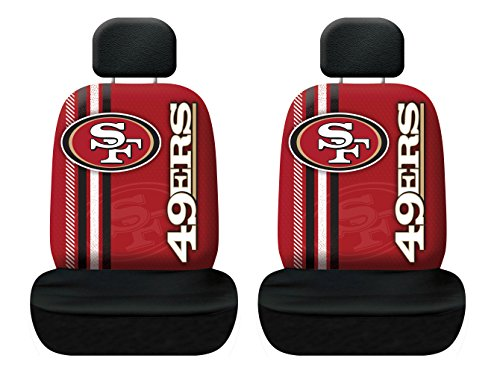 Fremont Die NFL San Francisco 49ers Rally Seat Cover, One Size, Red