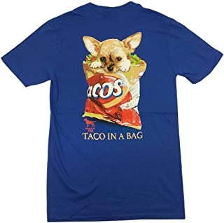 Small Taco Dog in Chip Bag Adult T-Shirt