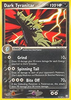 Pokemon Dark Tyranitar - Team Rocket Returns - 19 [Toy]