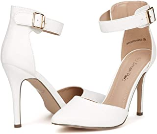 Best gold ankle strap heels closed toe Reviews