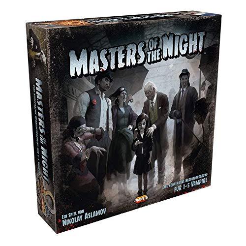 Asmodee Masters of the Night, Familienspiel, Strategiespiel, Deutsch