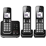 Panasonic KX-TGD323EB Cordless Home Phone with Nuisance Call Blocker and Digital Answering Machine