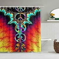シャワーカーテンブラックホワイト大理石防水バスカーテンフックに含まれるdBathroom装飾的なアイデアポリエステル生地アクセサリー