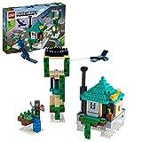 LEGO 21173 Minecraft La Torre al Cielo, Juguete de Construcción para Niños +8 Años con Figuras y Casa de Árbol Configurable