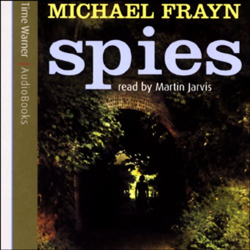 Spies audiobook cover art