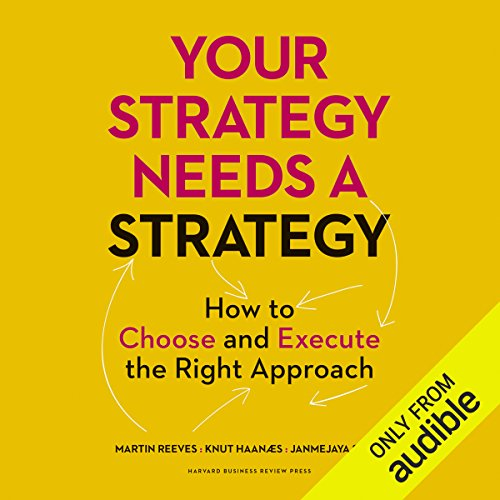 Your Strategy Needs a Strategy audiobook cover art