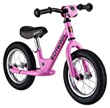 Schwinn Skip 1 Toddler Balance Bike, 12-Inch Wheels, Beginner Rider Training, Pink