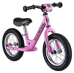 cheap Schwinn exercise bike for toddlers, 12-inch wheels, starter, pink