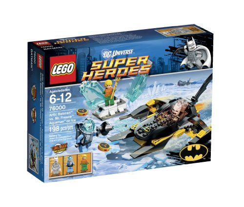 LEGO SUPER HEROES BATMAN VS MR. FREEZE 76000