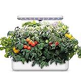 WISREMT Hydroponics Growing System, Indoor Herb Garden Starter Kit with LED Grow Light, Smart Garden Planter,...