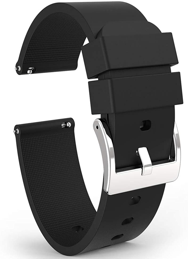Wellfit Watch Strap Dealing full price reduction Soft Silicone Release Quick Sta Band 2021new shipping free shipping