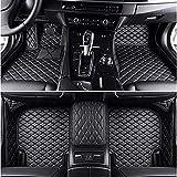 YFTGD Korean Pine Mats del Piso del Coche Ajuste para BMW E46 E36 E60 X5 E70 E30 F10 G30 E30 E34 E39 E90 F10 F20 F30 X1 E53 E87 X3 E83 Accesorios para automóviles (Color Name : Gray)