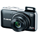 Canon PowerShot SX230 HS 12.1 MP CMOS Digital Camera with 14x Image Stabilized Zoom 28mm Wide-Angle Lens and 1080p Full-HD Video (Black) (OLD MODEL) (Certified Refurbished)