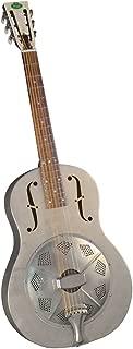 Regal RC-43 Metal Body Triolian Guitar - Antiqued Nickel-Plated Steel