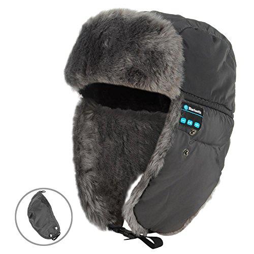 YI WORLD Smart Casquette Bluetooth Beanie Hat Fil Casque Music Hat Microphone intégré Répondre aux appelsÉquipement, 003